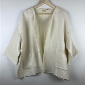 =the Fisher project=linen jacket xl